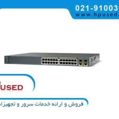 سوئیچ شبکه سیسکو 24 پورت WS-C2960X-24TS-L