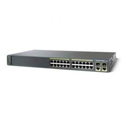 سوئیچ شبکه سیسکو 24 پورت WS-C2960-24TC-L