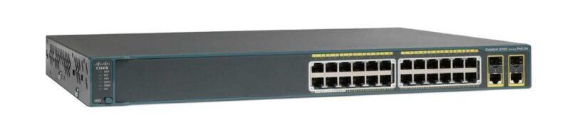 سوئیچ شبکه سیسکو 24 پورت WS-C2960XR-24TS-I