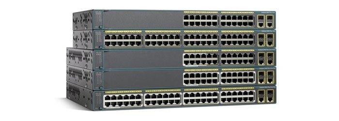 سوئیچ شبکه سیسکو 48 پورت WS-C2960-48TC-L