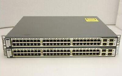 سوئیچ شبکه سیسکو 48 پورت WS-C3750-48PS-S