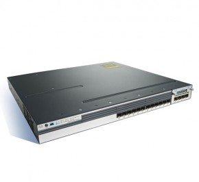 سوئیچ شبکه 12 پورت سیسکو Cisco 3750X 12S-S