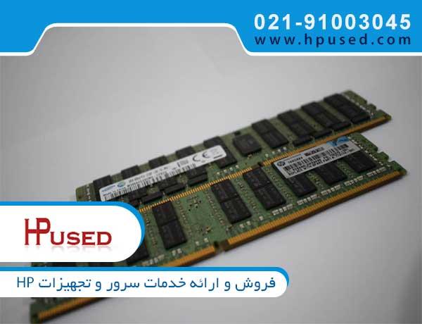 رم سرور اچ پی 16GB PC3L-10600R-9 با پارت نامبر 647901 بی 21