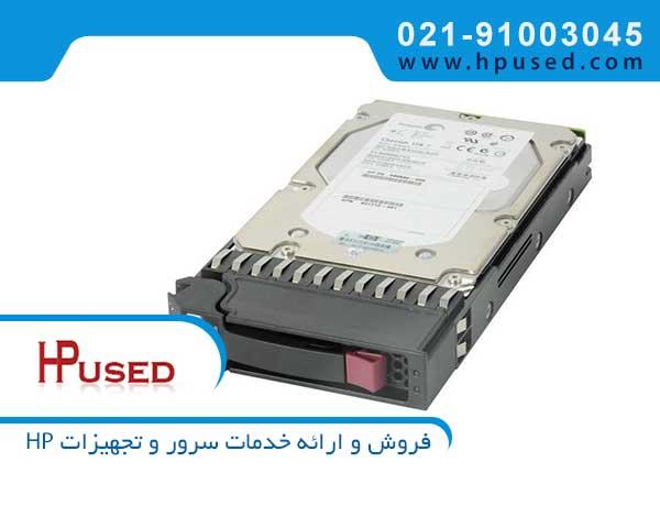 هارد سرور اچ پی 600GB 6G SAS 15K AP860A