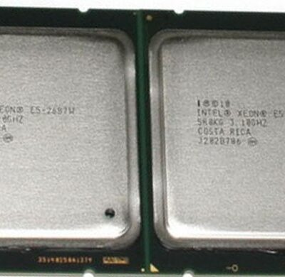 سی پی یو سرور اینتل Xeon E5-2687W