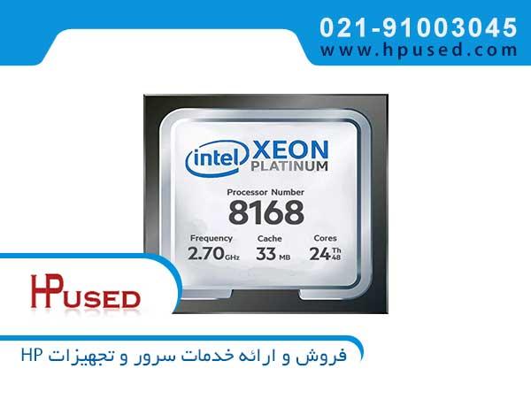 سی پی یو سرور اینتل Xeon Platinum 8168
