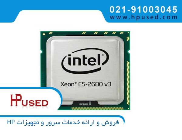سی پی یو سرور اینتل Xeon E5-2680 v3