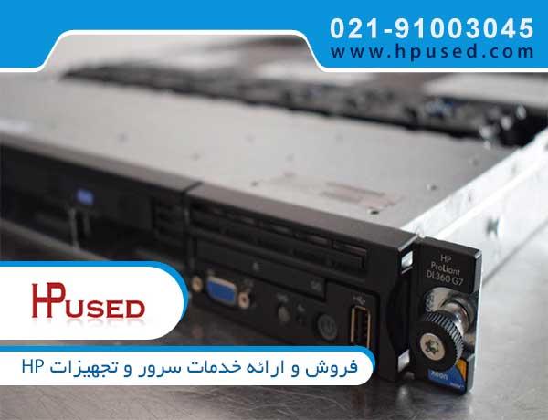 سرور رکمونت اچ پی DL360 G7 E5540 492244-B21