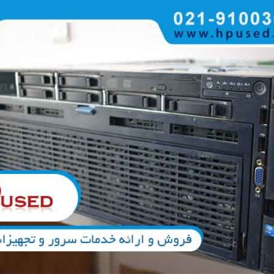 سرور اچ پی DL580 G7 Intel Xeon E7-4870