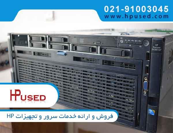 سرور اچ پی DL580 G7 E7-4807