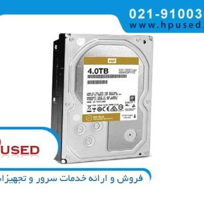 هارد ذخیره ساز وسترن دیجیتال Gold 10TB WD101KRYZ