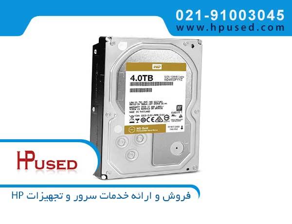 هارد سرور وسترن دیجیتال Gold 4TB SATA WD4002FYYZ