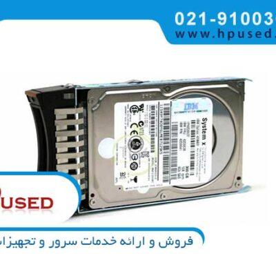 هارد سرور آی بی ام 300GB 6G SAS 15K 81Y9913