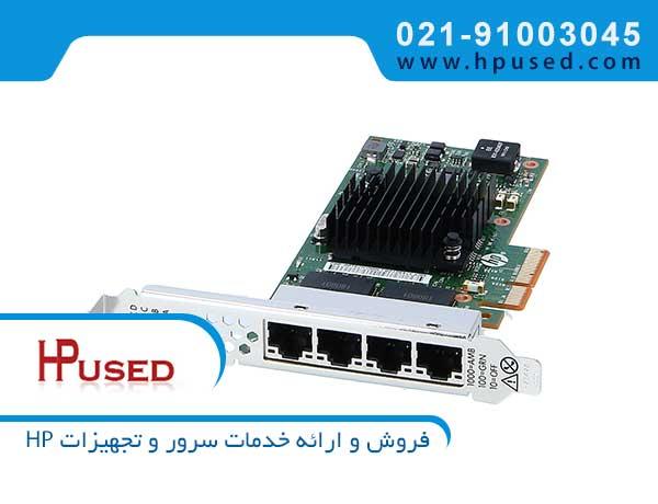 کارت شبکه سرور اچ پی 366T 4Port 811546-B21