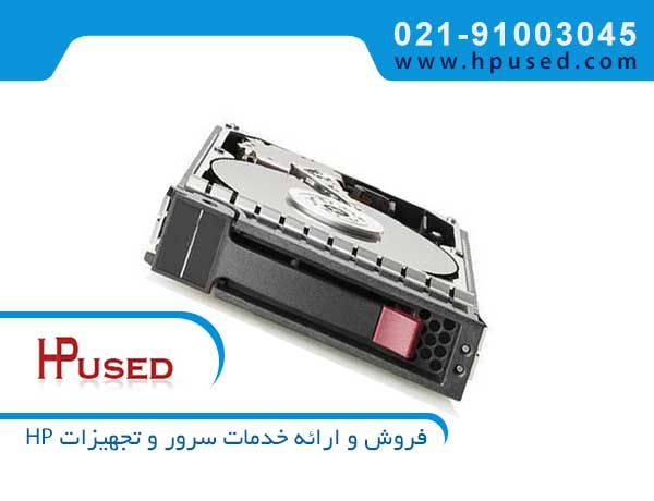 هارد سرور اچ پی P2000 3TB 6G SAS 7.2K