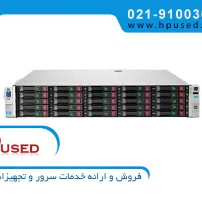 سرور اچ پی ProLiant DL380P G8 25Bay E5-2665