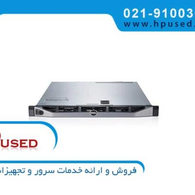 سرور رکمونت دل PE R620 2U-8Hard-24DIMM Slot
