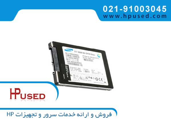 حافظه اس اس دی سرور اچ پی 240GB 6G SATA 778062-001