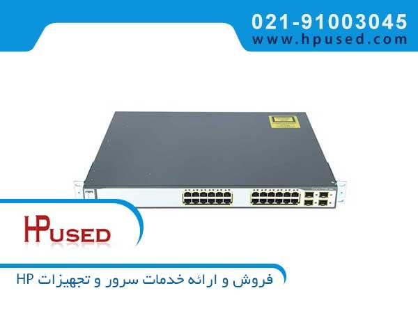 سوئیچ شبکه مدیریتی سیسکو 24 پورت WS-C3750G-24TS-S1U