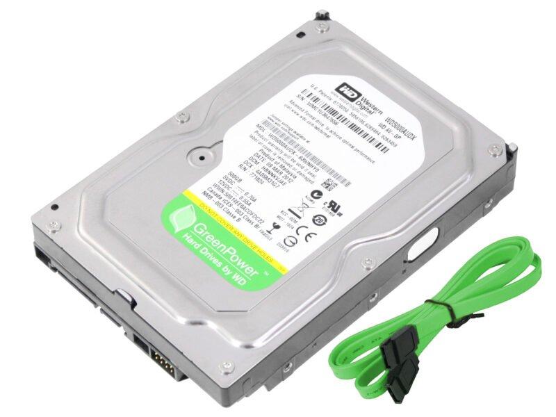 هارد وسترن دیجیتال Green 500GB WD5000AUDX