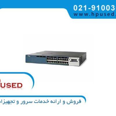 سوئیچ شبکه سیسکو 24 پورت WS-C3560X-24P-L