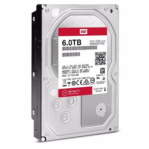 هارد دیسک وسترن دیجیتال قرمز 6TB RED 3.5