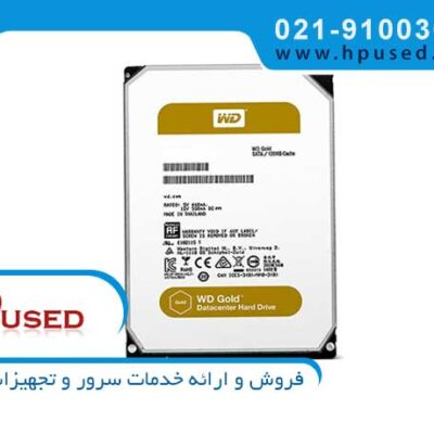 هارد سرور وسترن دیجیتال Gold 6TB SATA WD6002FRYZ