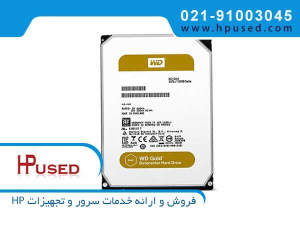 هارد سرور وسترن دیجیتال Gold 8TB SATA WD8003FRYZ